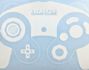 gamecube controller decal etsy