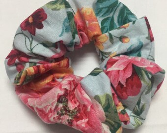 Spring Floral Scrunchies (4 available designs)