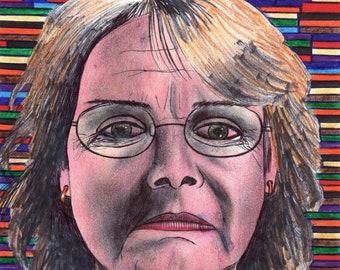 Ms. Maldonado, PRINT drawing