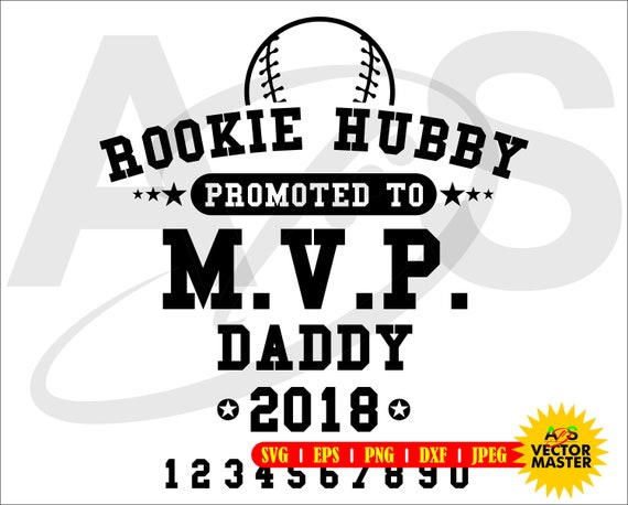 Rookie Hubby High Quality Cutting Andor Print File Svg Png Eps Dxf Jpeg Cricut Silhouette Roland Vector Raster Digital File