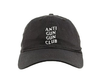 56403787dce Anti Social Social Club Meme Anti Gun Club Black Dad Hat