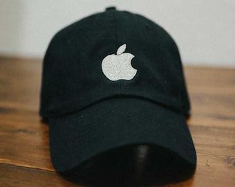 e91aebf3 apple computer company embroidered dad hat