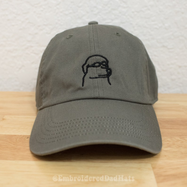 Dog Hat Embroidered Dad Hat