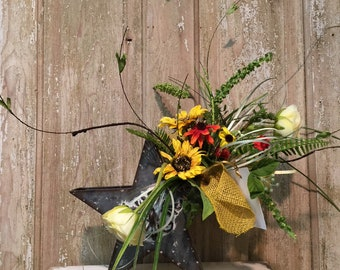 Sunflower Star Floral Arrangement