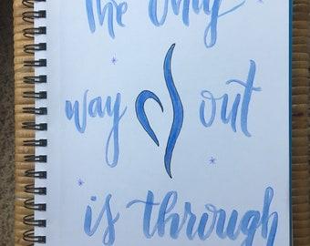 Eating Disorder Recovery Print - Handwritten
