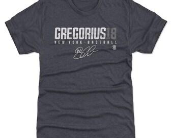 Didi Gregorius Shirt | New York Y Baseball | Men's Premium T Shirt | Didi Gregorius Gregorius18 W Wht