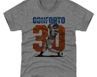 Michael Conforto Youth Shirt | New York M Baseball | Kids T Shirt | Michael Conforto Stadium O