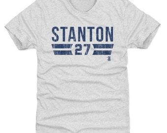 Giancarlo Stanton Shirt | New York Y Baseball | Men's Premium T Shirt | Giancarlo Stanton Font B
