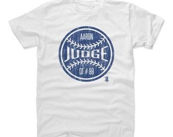 Aaron Judge Shirt | New York Y Baseball | Men's Cotton T Shirt | Aaron Judge Ball B