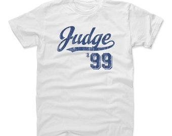 Aaron Judge Shirt | New York Y Baseball | Men's Cotton T Shirt | Aaron Judge Script B