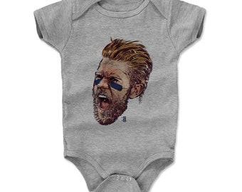 Bryce Harper Baby Clothes | Washington Baseball | Baby Romper | Bryce Harper Scream B