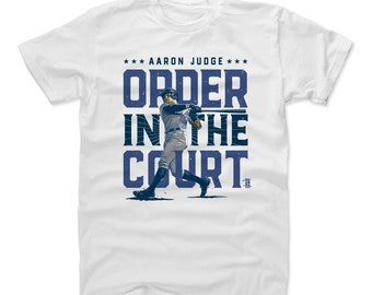 Aaron Judge Shirt | New York Y Baseball | Men's Cotton T Shirt | Aaron Judge Order B
