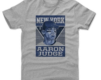 Aaron Judge Shirt | New York Y Baseball | Men's Cotton T Shirt | Aaron Judge Pro B