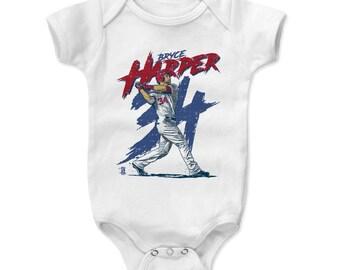Bryce Harper Baby Clothes | Washington Baseball | Baby Romper | Bryce Harper Rough B