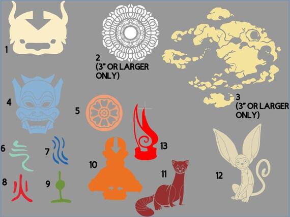 Avatar Inspired The Last Airbender Legend Of Korra White Lotus Etsy