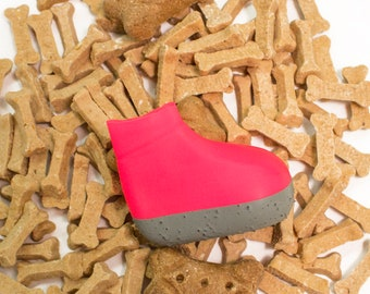 drizzledry dog boots PACKAGE OF 4 (pink)
