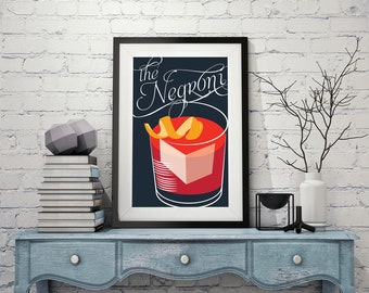 CAMPARI the negroni liquer aperol POSTER print poster canvas art print poster  for home wall art home decor art prints clothing theme poster