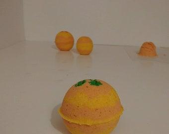 Orange and pineapple bathbombs