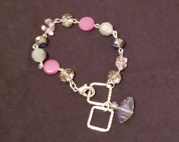 B38 Purple Gray Stones