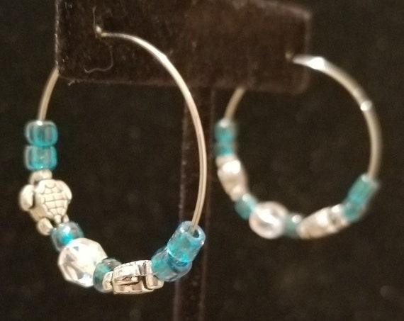 502E Dolphin Seashell Earrings Only