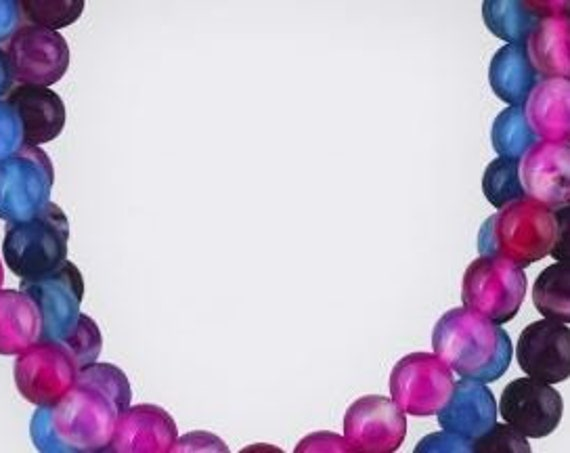 BM301 Bracelet Medley - Pink, Blue and Purple