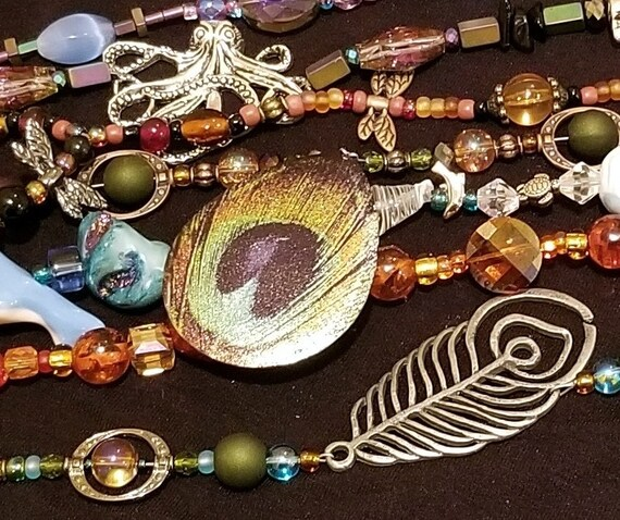 "000 Custom 16-18"" Beaded Necklace or Collection"