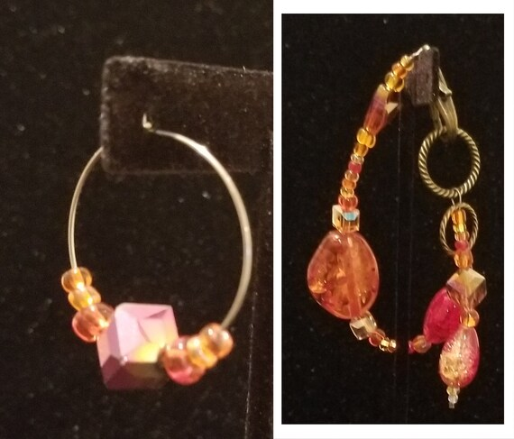 240BE Sunlit Fire Earrings & Bracelet(s) Only