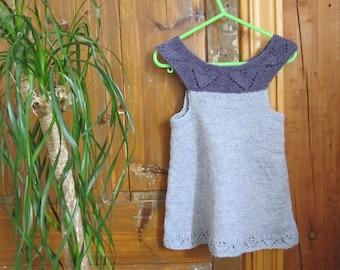 Knitted dress in Alpaca