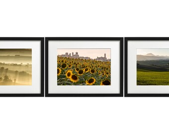 n.3 Prints - Marche's country 1 - Italy - TRIS1