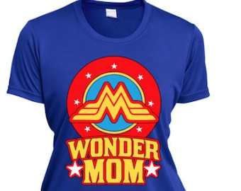 ce123e49033 Wonder Mom Shirt Gifts For Mom Funny Mom Shirt Women Shirts Feminism Shirt  Clothing Graphic Tee Wonder Women s Birthday Shirts with Sayings