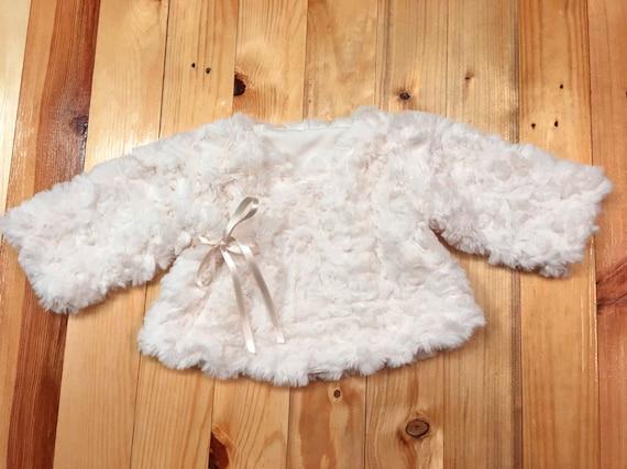 Baby Fur Jacket Girl, Fur Coat For Baby Girl