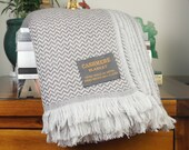 Luxury Soft Cashmere Throws For Bed Sofa Travel - Handmade in Nepal