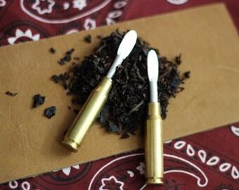 308 Bullet Shell Casings Pipe Tamper (Set of 2)