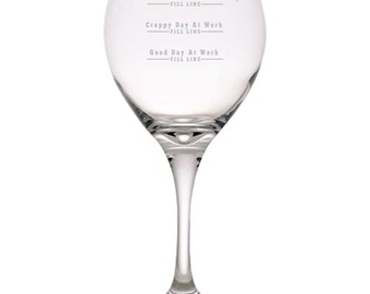 Boss Treated You Bad Today Red Wine Glass