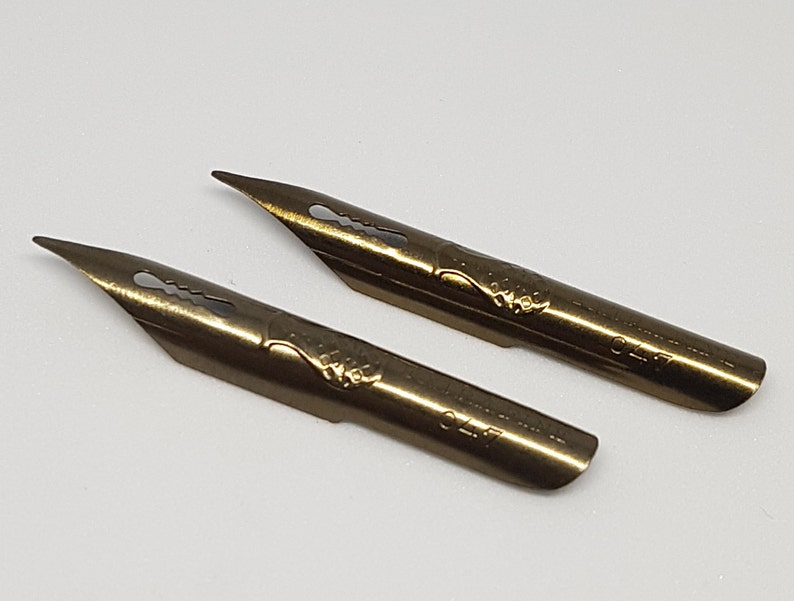 Plume Ballon Extra Fine 047 Calligraphy vintage pen dip nib #37