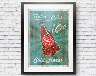 Nuka-Cola Print Inspired in the Fallout Series