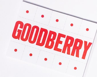 Goodberry DnD Spell Card