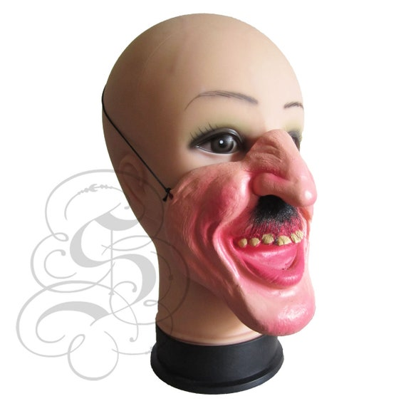 UK SKINNED ALIVE ZOMBIE LATEX DELUXE HALLOWEEN FANCY DRESS UP MASK ADULT COSPLAY