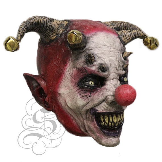 Halloween /'Sinister/'s Love Clown/' Horror Fancy Dress Up Latex Party Masks