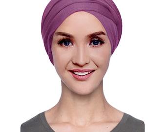 Women s Chemo Cancer Hat Cap Wrap Turban Head Scarf Hair Cotton Jersey Tie 80496984dbae