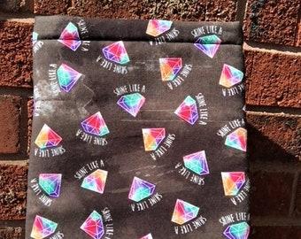 Book Sleeve - Shine like a Diamond