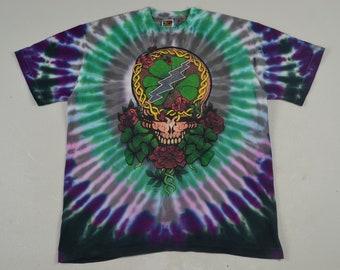 8343fa54a585 Vtg 1995 Grateful Dead St. Patricks Not Fade Away Tee vintage band rock  concert shirt 70s 80s 90s streetwear tie dye jerry garcia bob weir