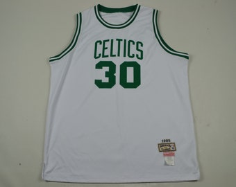 new style 94a4d ca0be VTG 90s Len Bias Boston Celtics Hardwood Classics NBA Basketball Jersey 80s  streetwear fashion hip hop larry bird