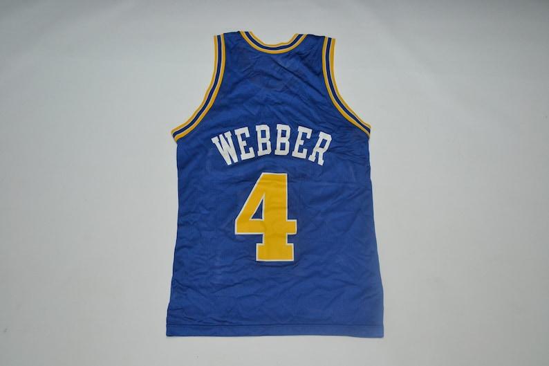 buy popular 92149 8a013 VTG Chris Webber C Web Golden State Warriors Champion Jersey Vintage 80s  90s streetwear fashion hp hop nba basketball curry durant