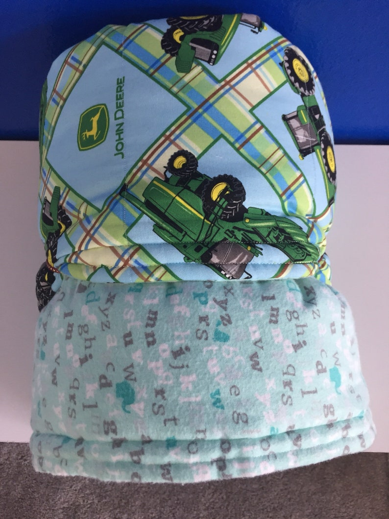 50f882dd773ef John Deere Blue and Green Cotton Baby to Toddler Blanket