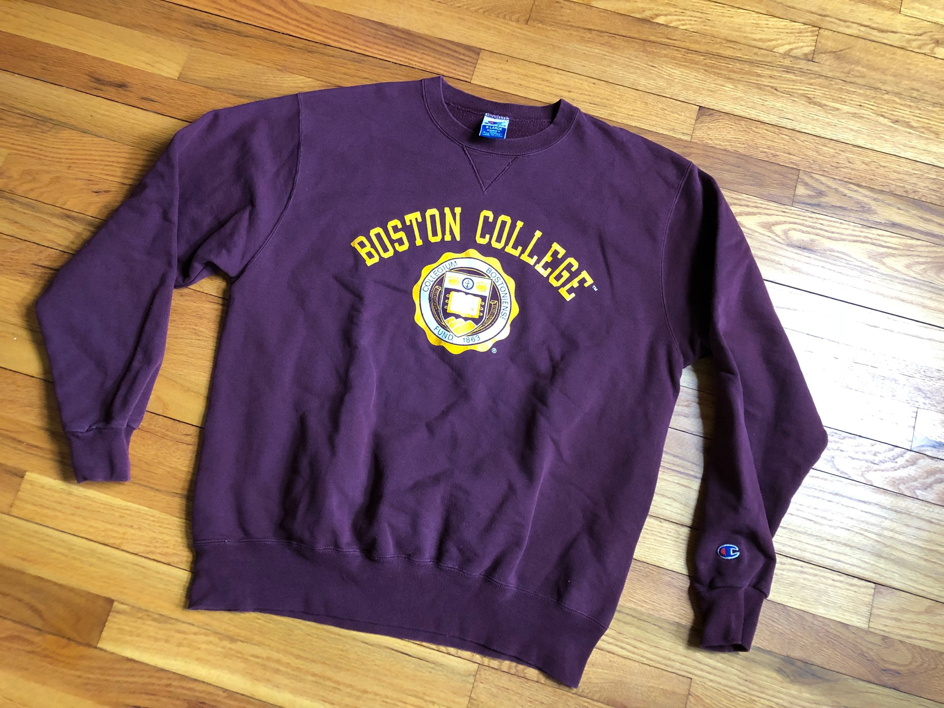 c2ffc1985 Champion Boston College Sweatshirt - Nils Stucki Kieferorthopäde