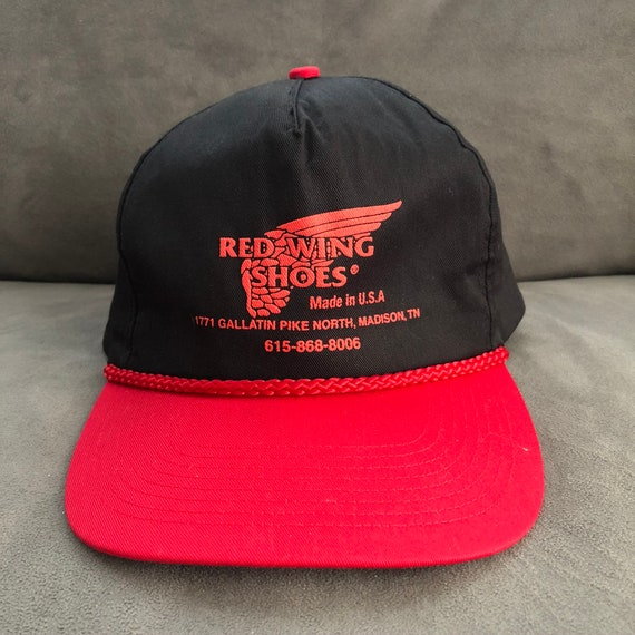 Vintage Redwing Shoes Hat, 90s Redwing Shoes Hat,