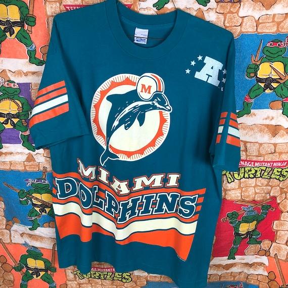 Vintage Miami Dolphins Shirt Mens XL. Miami Dolphi