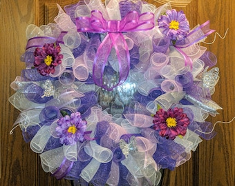 Floral Wreath. Ready to Ship!