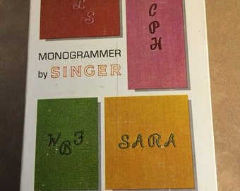 Singer Monogrammer for Slant-needle Zig-Zag Sewing Machine #171256 use with 750 Series Machines
